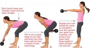Hip hinge NOT squat